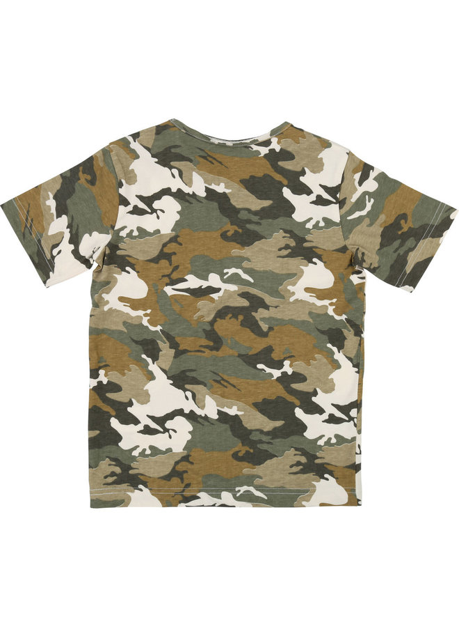 Zadig & Voltaire T-Shirt Camouflage Boys