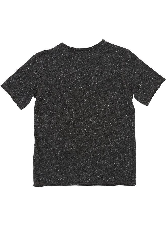 Zadig & Voltaire T-Shirt schwarz meliert