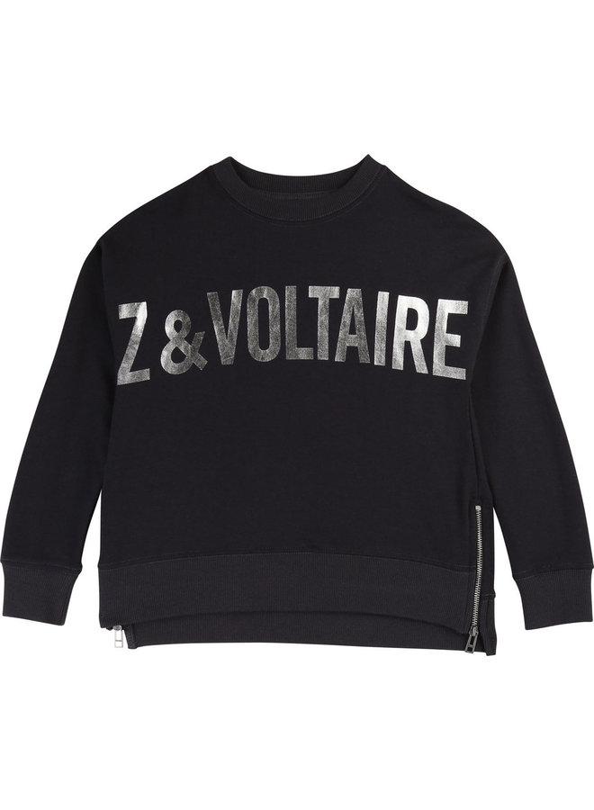 Zadig & Voltaire Sweatshirt schwarz
