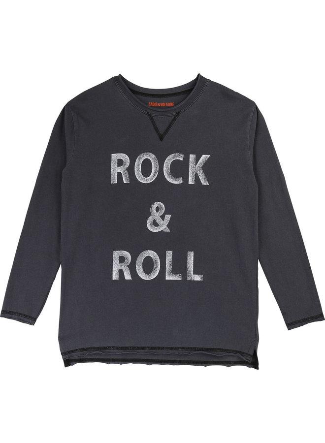 Zadig & Voltaire Longsleeve Rock & Roll schwarz