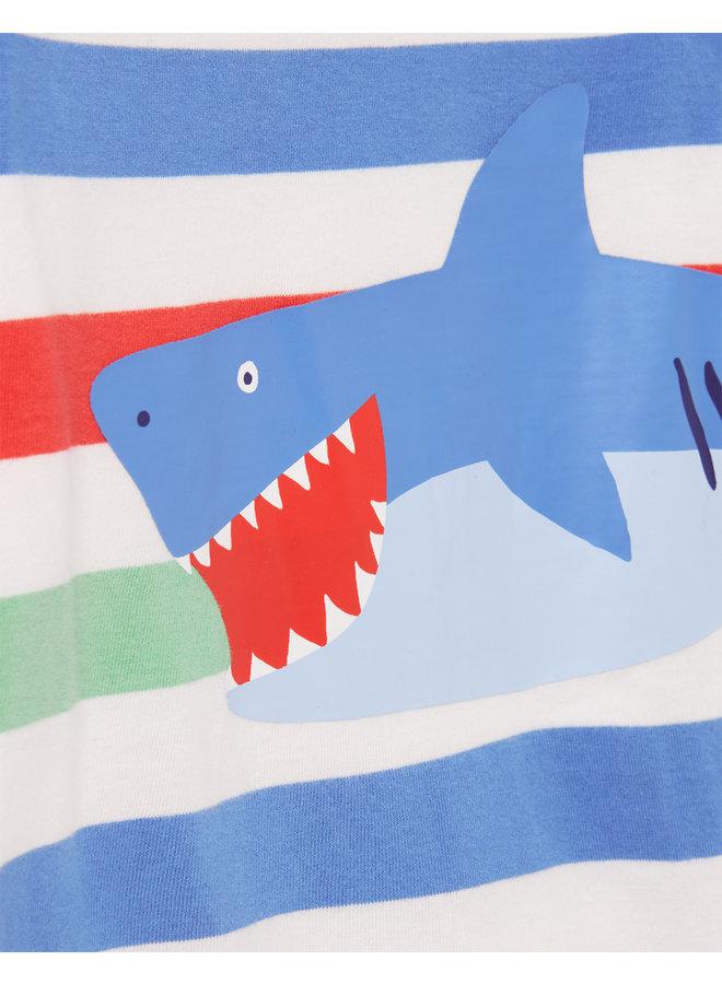 TOM JOULE Baby Jungen Jersey Spieler Patch Hai