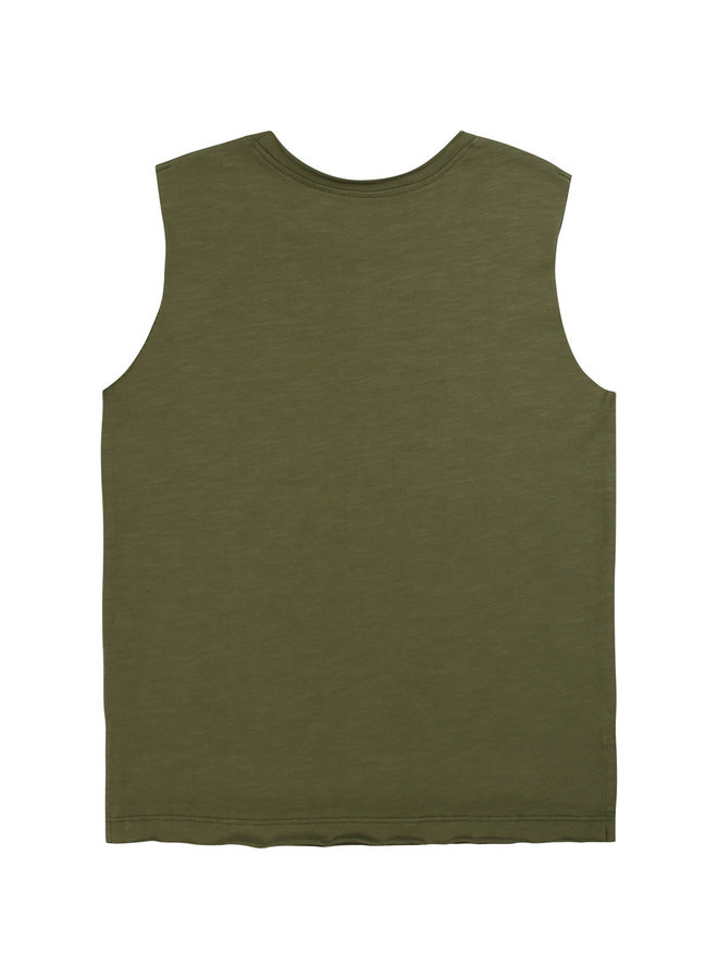 Zadig & Voltaire T-Shirt ärmellos khaki
