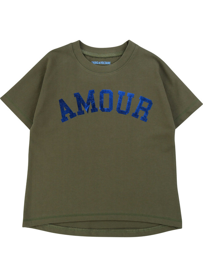 Zadig &Voltaire T-Shirt AMOUR