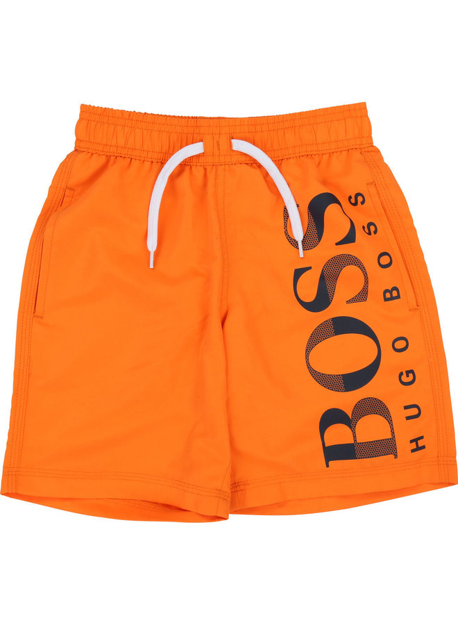HUGO BOSS Badshorts orange