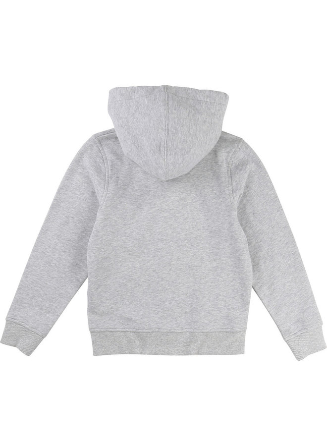 ´Timberland Hoodie Sweatjacke Logo greymelange