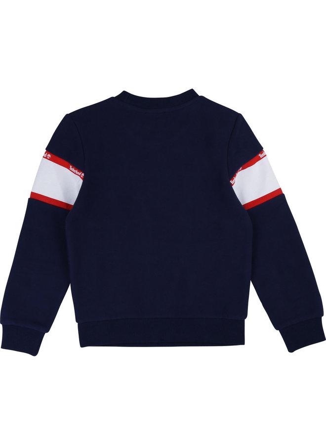 Timberland Sweatshirt blau rot weiß