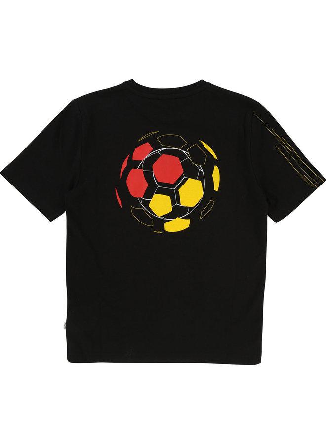 HUGO BOSS Kinder T-Shirt Deutschland Fußball