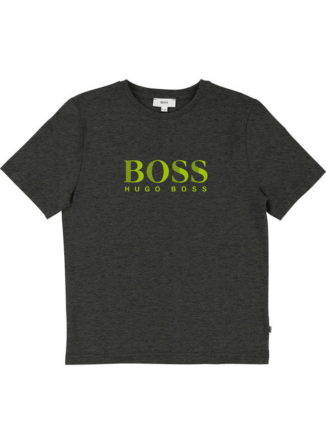 HUGO BOSS Kinder T-Shirt anthrazit