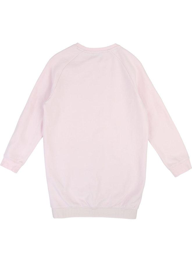 HUGO BOSS Kids Kleid rosa Sweat