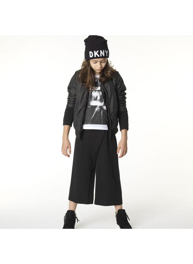 DKNY Mütze schwarz mit Logo