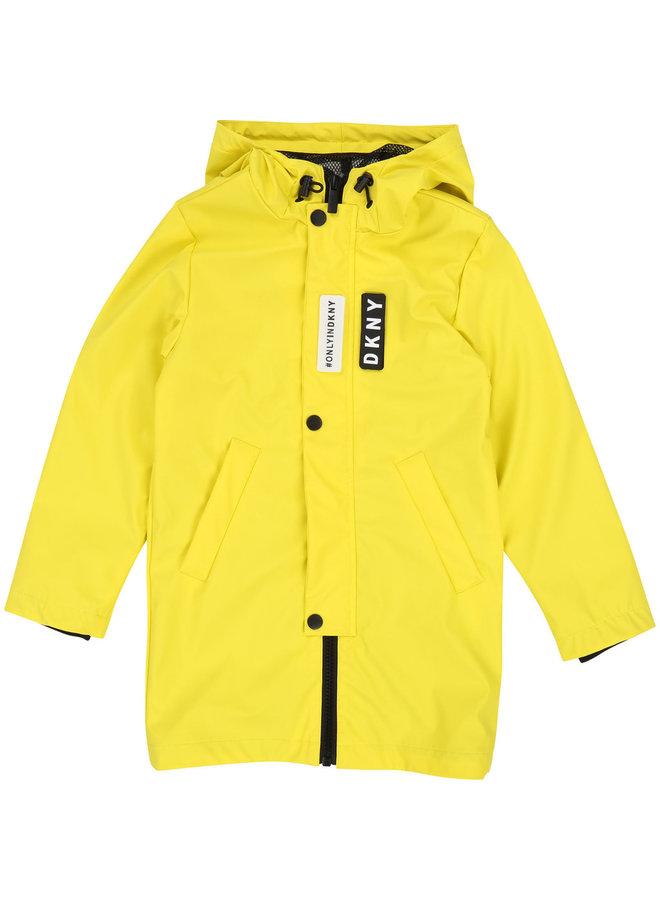 DKNY KIDS Regenmantel gelb