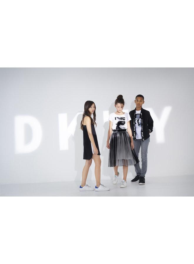 DKNY KIDS Kleid schwarz