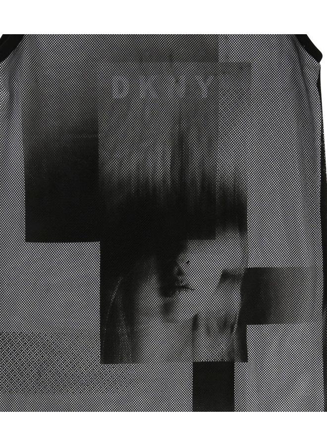 DKNY KIDS Kleid Lagenkleid schwarz