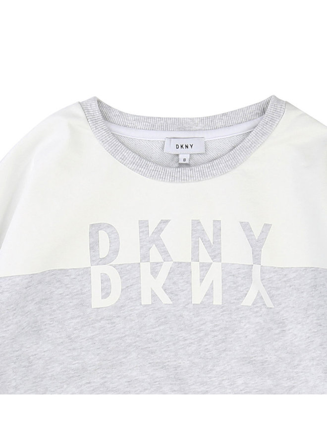 DKNY KIDS Sweatshirt Dreiviertel Arm