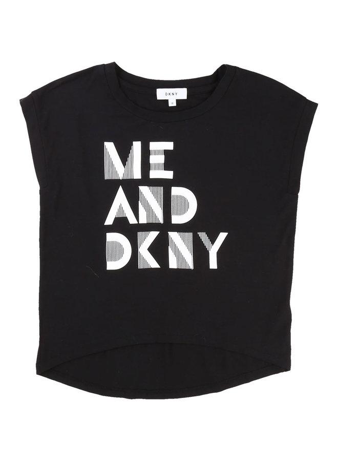 DKNY KIDS T-Shirt me and DKNY schwarz