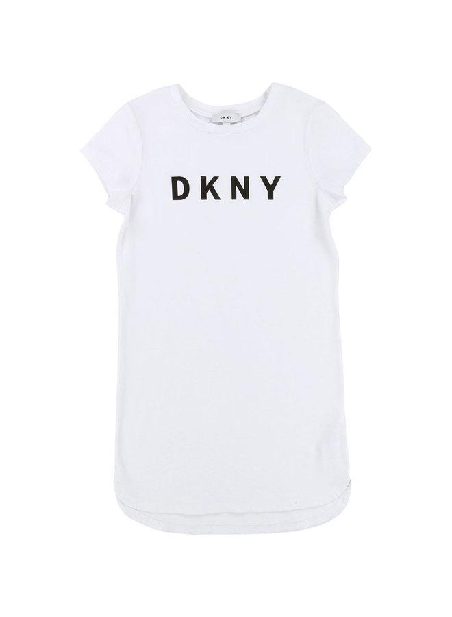 DKNY KIDS Shirt-Kleid weiß
