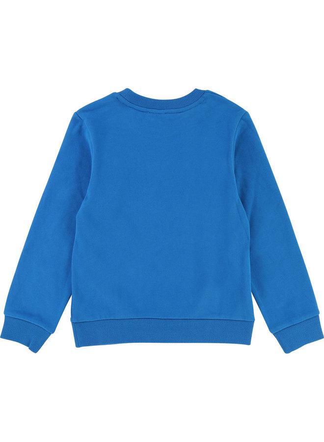 DKNY KIDS Sweatjacke blau mit Logo
