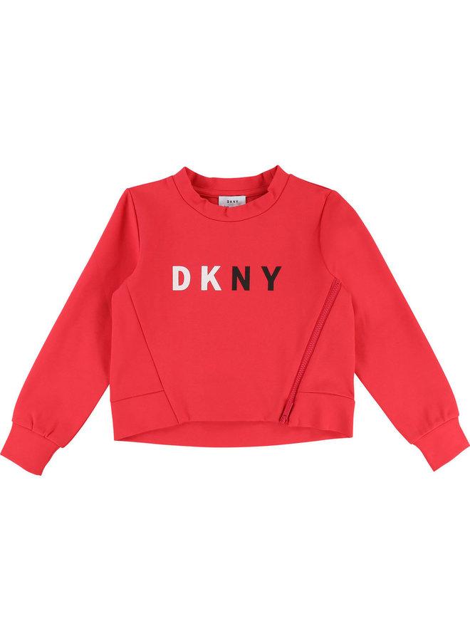 DKNY KIDS Milano Sweatshirt pink