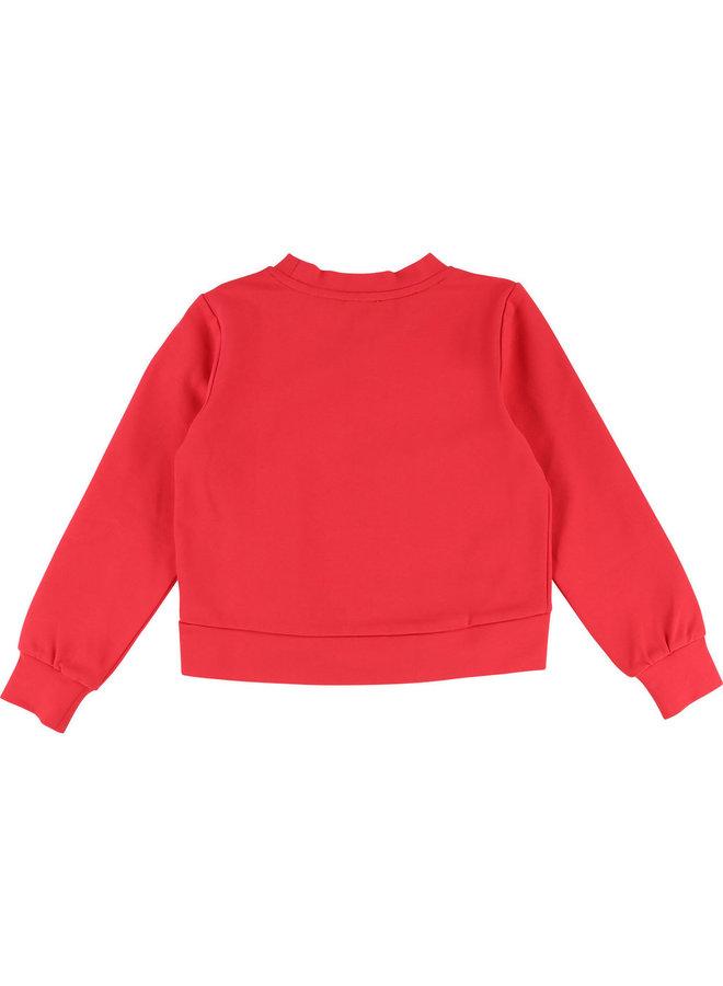 DKNY KIDS Milano Sweatshirt pink mit Logo