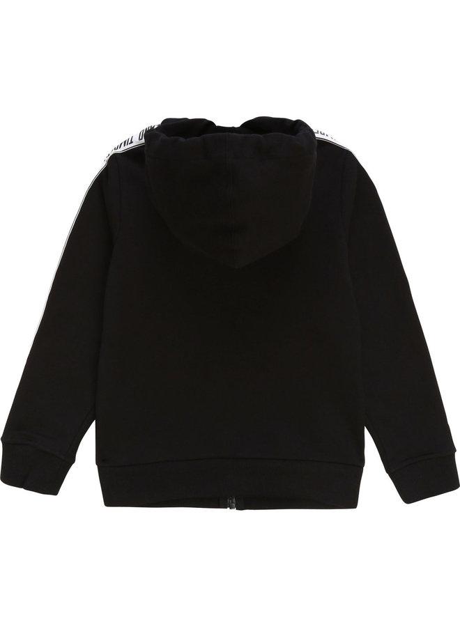 Timberland Hoodie Jacke schwarz Kapuzenjacke
