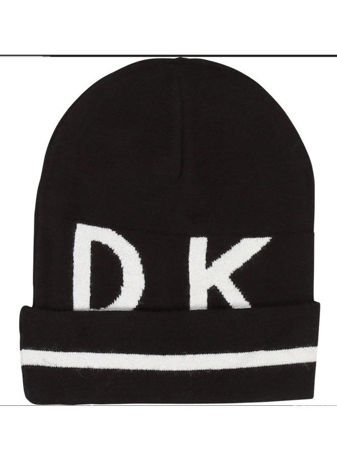 DKNY KIDS Intarsien Mütze