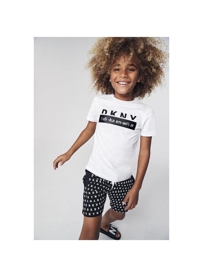 DKNY KIDS T-Shirt weiß di-ka-en-wi Boys