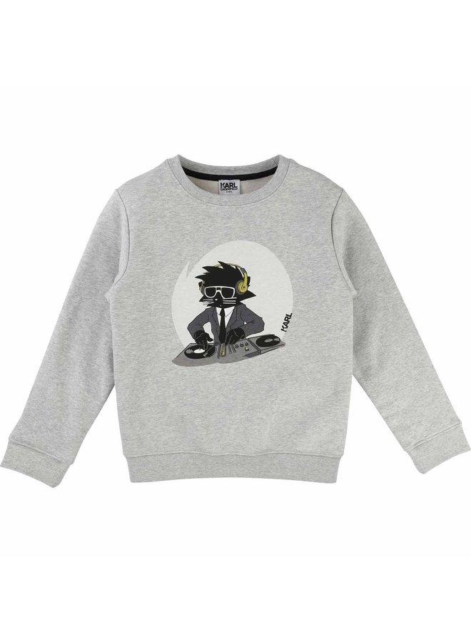 KARL LAGERFELD KIDS Sweatshirt greymelange