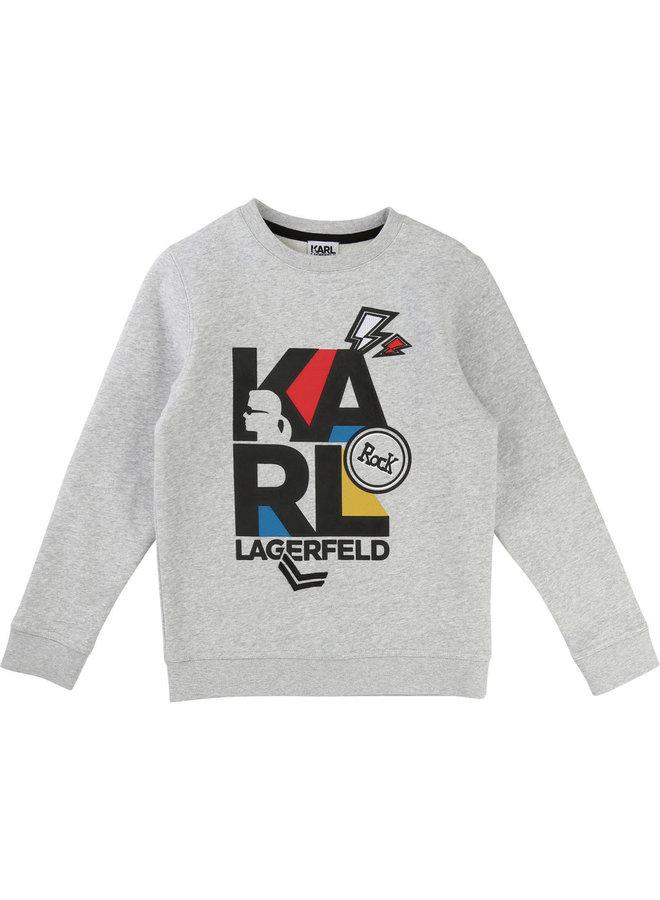 KARL LAGERFELD KIDS Sweatshirt bunt