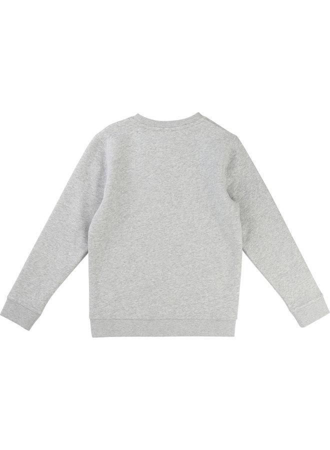 KARL LAGERFELD KIDS Sweatshirt bunt greymelange