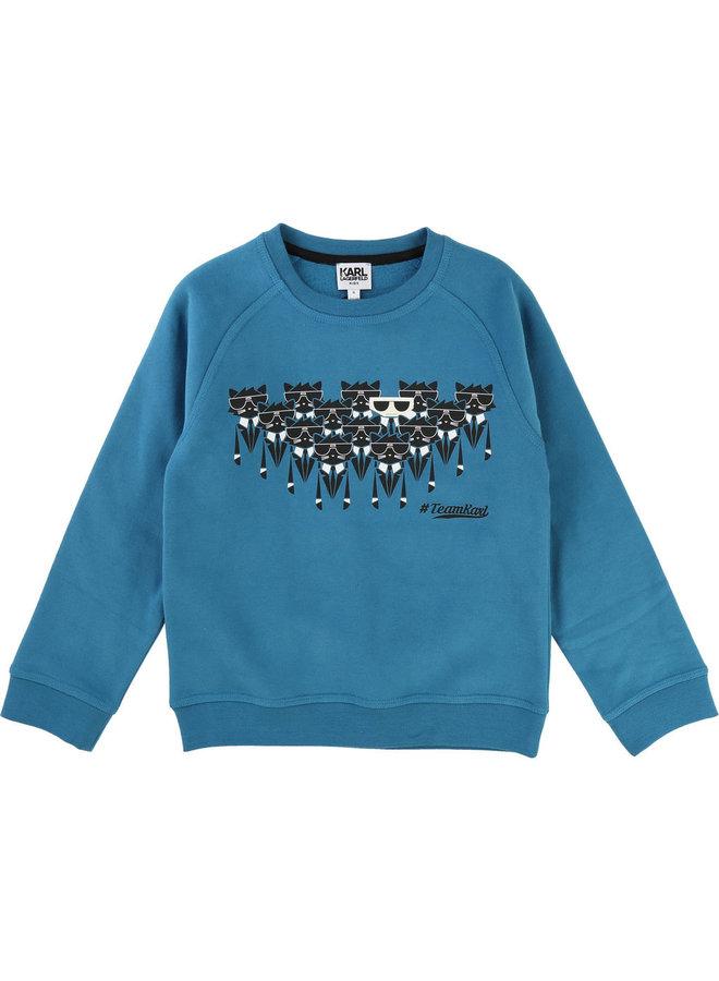 KARL LAGERFELD KIDS Sweatshirt Team