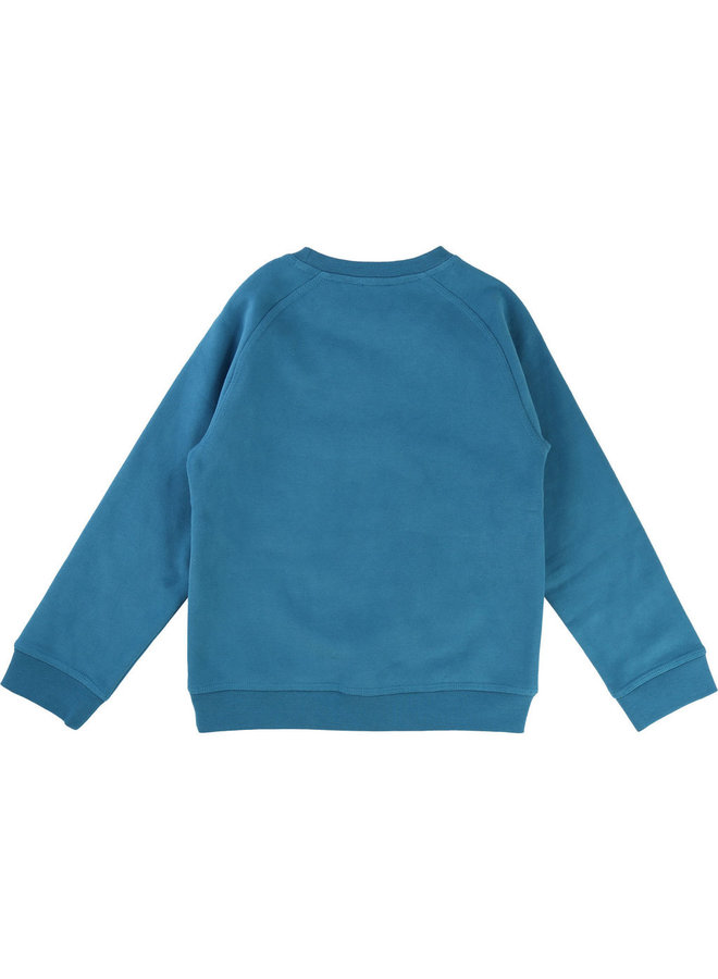 KARL LAGERFELD KIDS Sweatshirt Team Lagerfeld türkis