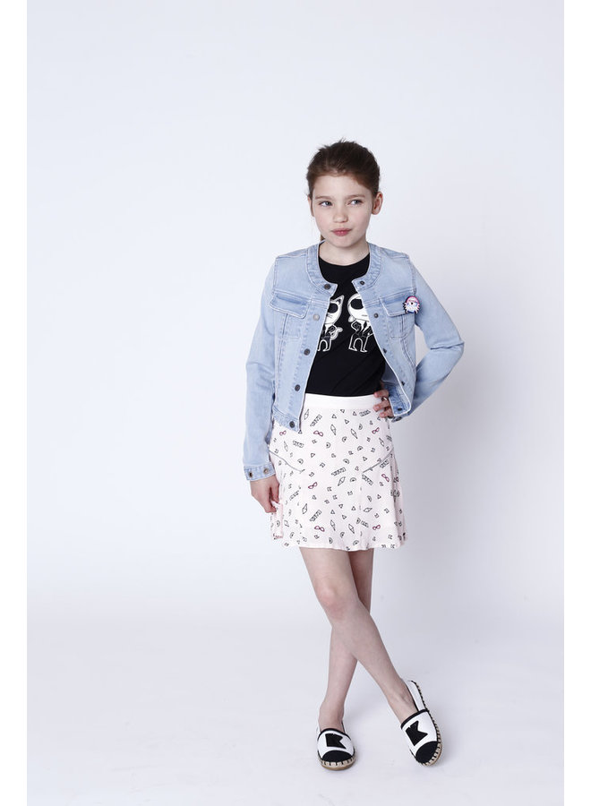 KARL LAGERFELD KIDS T-Shirt girls schwarz