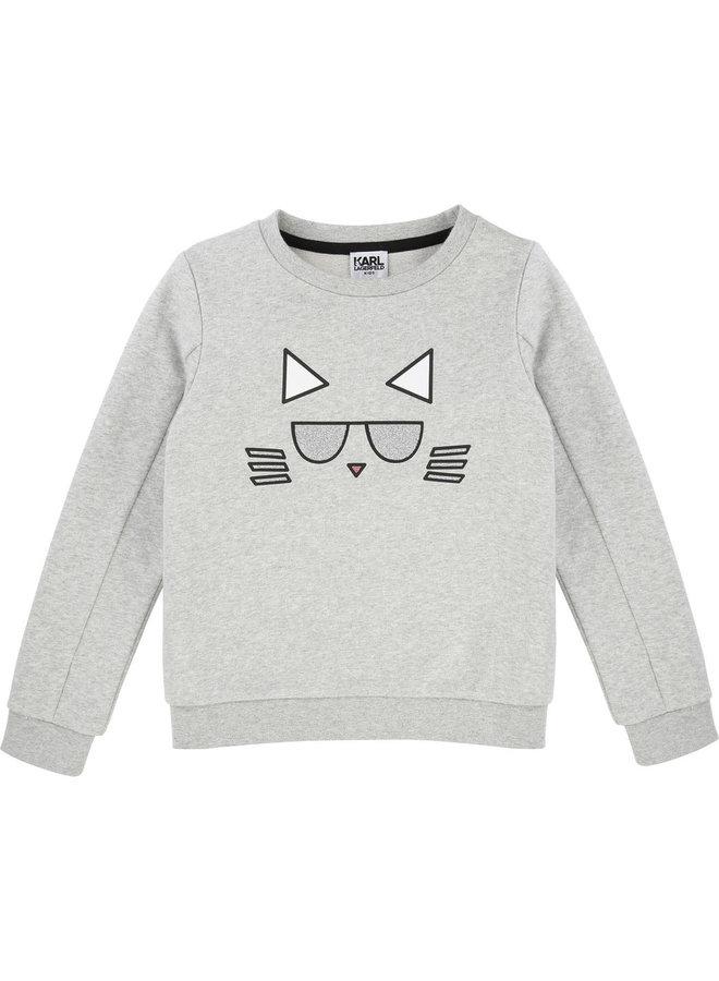 KARL LAGERFELD KIDS Sweatshirt girl Choupette