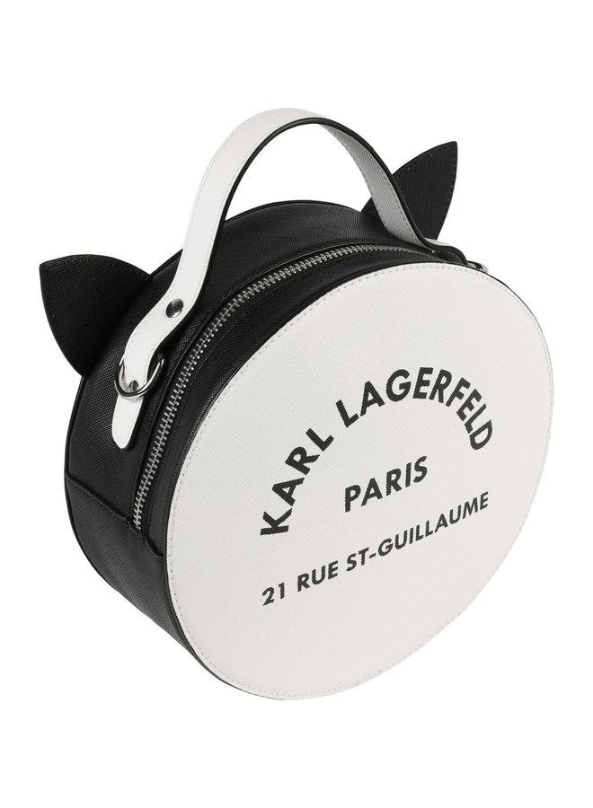 KARL LAGERFELD KIDS Tasche Choupette schwarz Katze