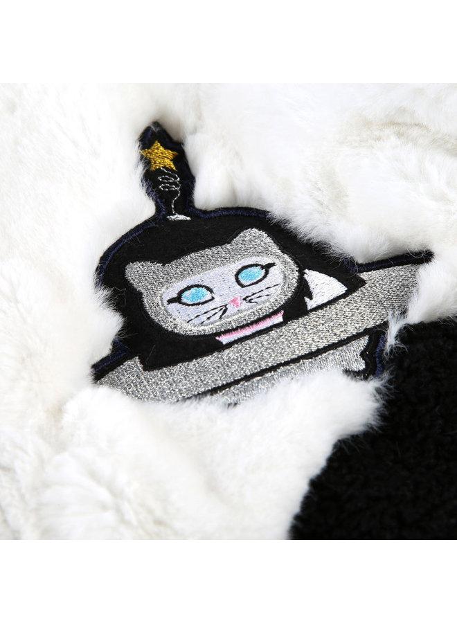 KARL LAGERFELD KIDS Mantel aus Kunstpelz