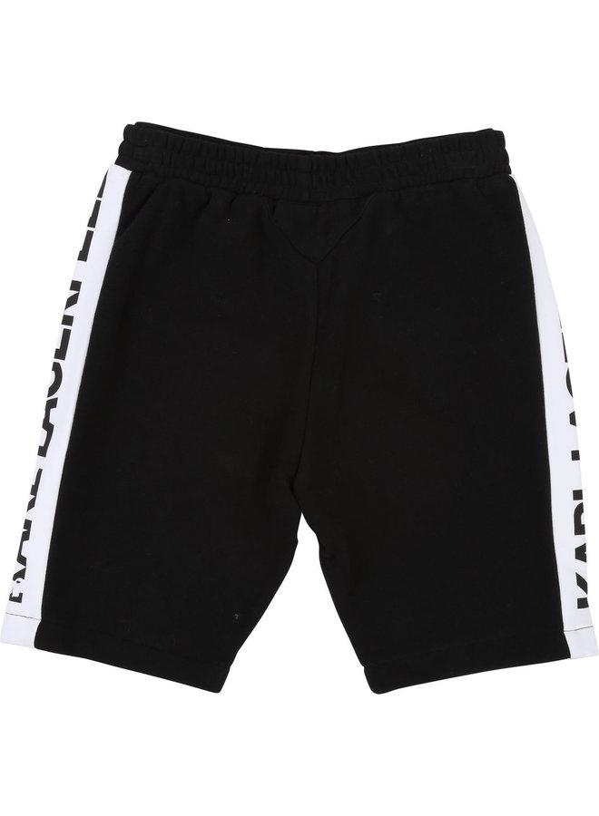 KARL LAGERFELD KIDS Bermuda Shorts schwarz