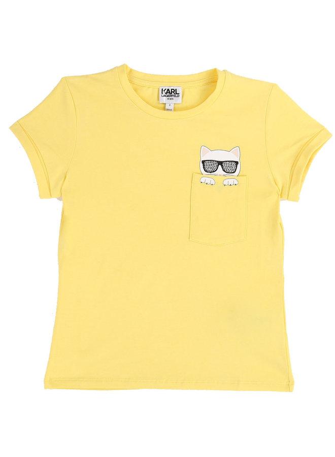 KARL LAGERFELD KIDS T-Shirt gelb