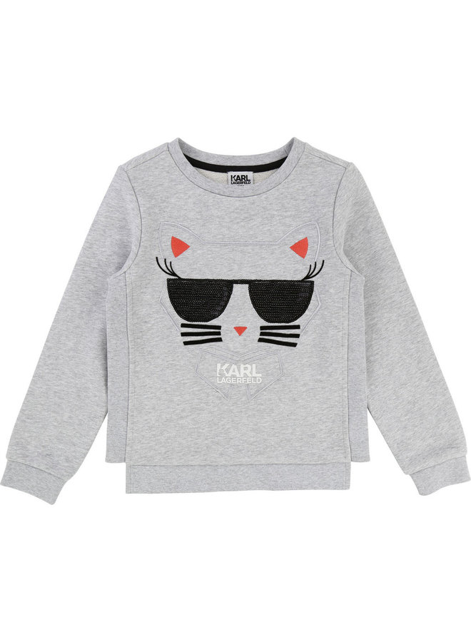 KARL LAGERFELD KIDS Mädchen Sweater