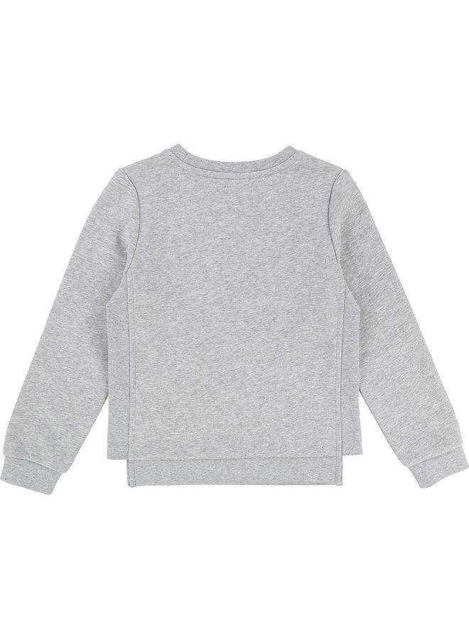 KARL LAGERFELD KIDS Mädchen Sweater Katze Choupette