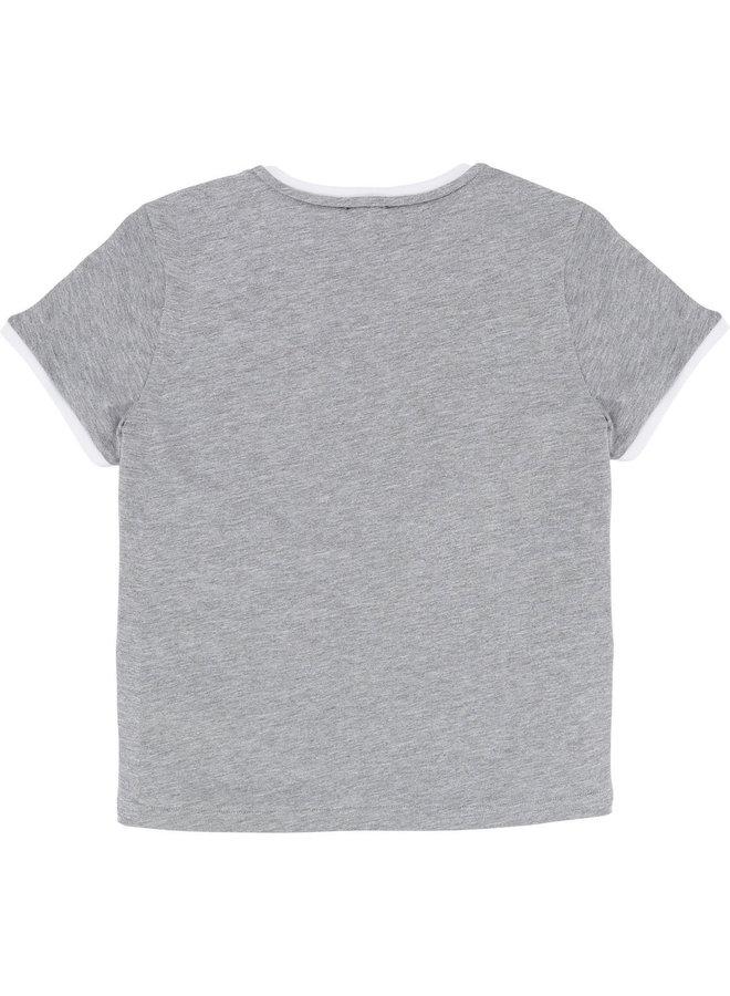 KARL LAGERFELD KIDS T-Shirt Flugzeug Staedte