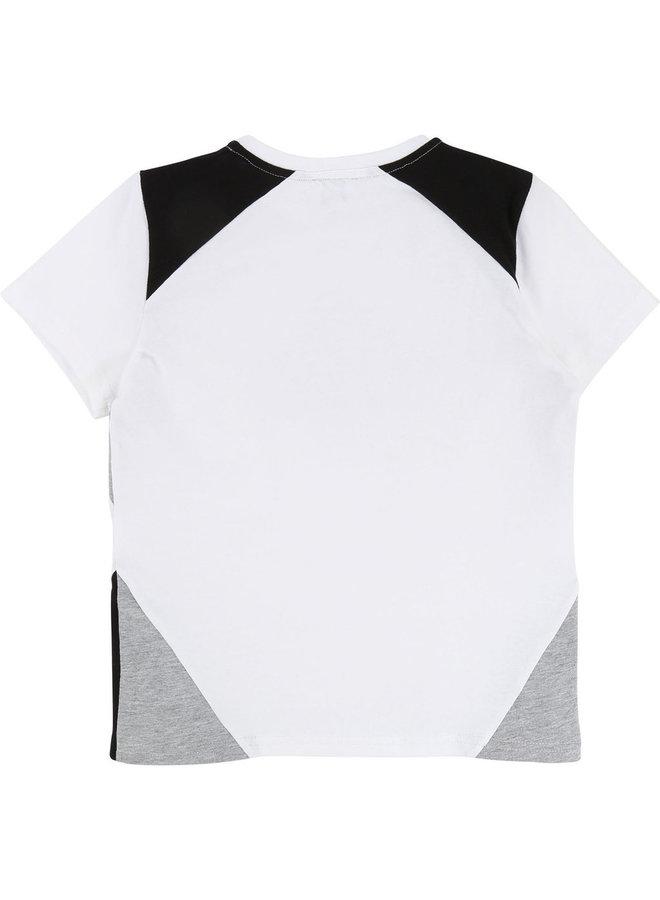 KARL LAGERFELD KIDS T-Shirt weiß grau schwarz