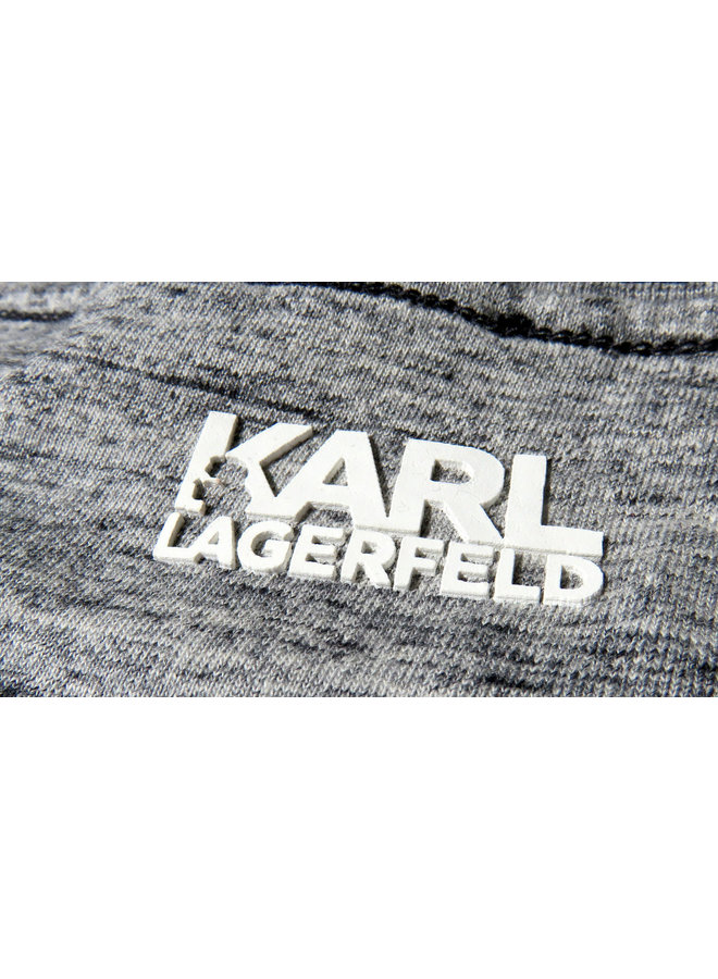 KARL LAGERFELD KIDS T-Shirt Cool Kids grau