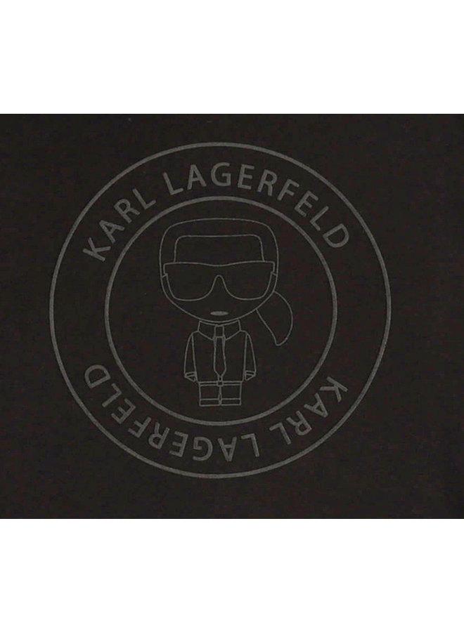 KARL LAGERFELD KIDS Longsleeve ikonic schwarz
