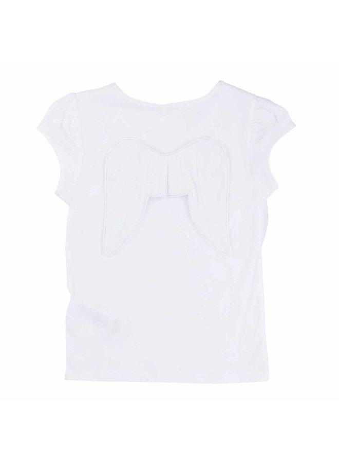 Billieblush T-Shirt Angel weiß