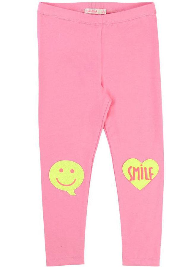 Billieblush Leggings rosa Smiley