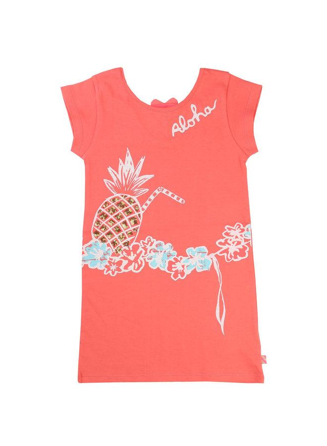 Billieblush Kleid Ananas koralle