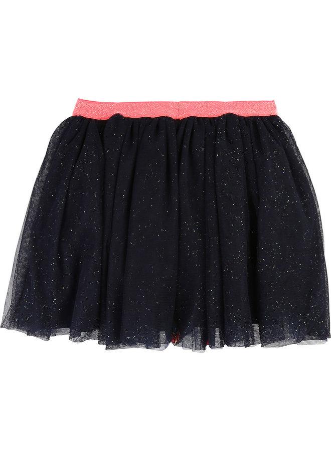 Billieblush Tutu Petticoat blau mit Pompoms