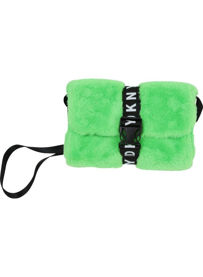 DKNY KIDS Tasche aus Kunstpelz hellgrün