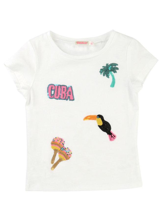 Billieblush T-Shirt Cuba