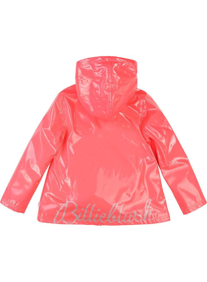 Billieblush Regenmantel pink silber